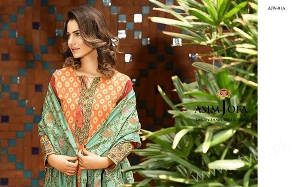 Asim Jofa Winter Dresses 2016-2017 For Women