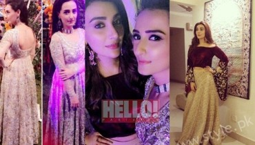See Ayesha Khan and Momal Sheikh at a Friend's Wedding