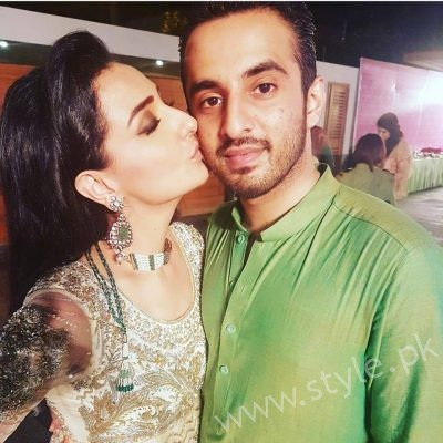 Ayesha Khan and Momal Sheikh at a Friend's Wedding (2)