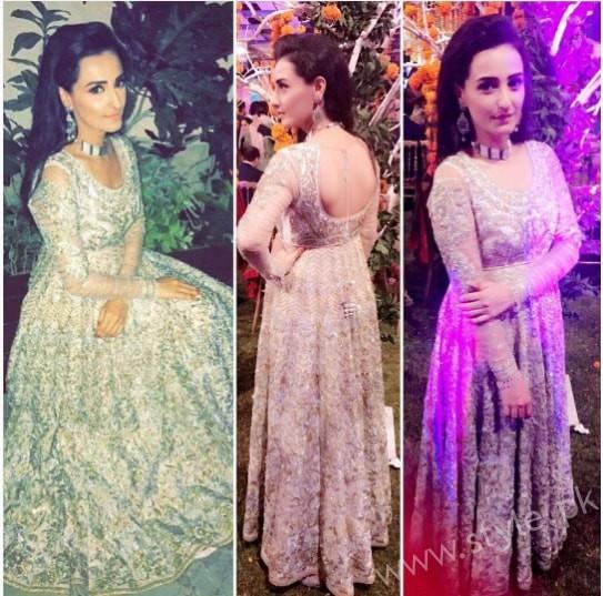 Ayesha Khan and Momal Sheikh at a Friend's Wedding (4)