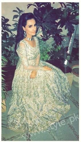 Ayesha Khan and Momal Sheikh at a Friend's Wedding (5)