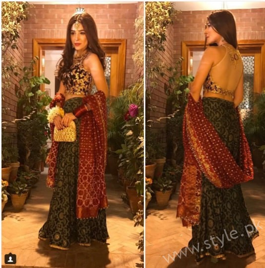 Ayesha Omar at her Friend's Mehndi (5)