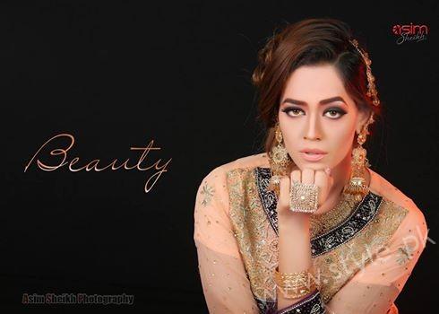 Bridal beauty shoot - Feroza Mohammad