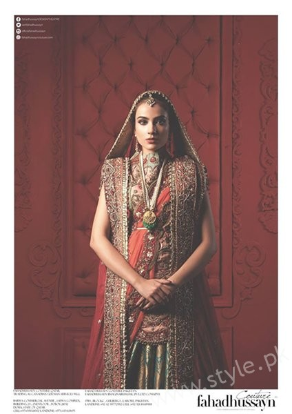 Fahad Hussayn Bridal Dresses 2016 For Women004