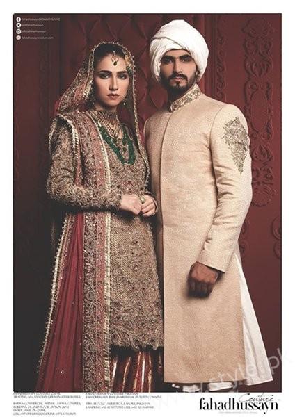 Pakistani Wedding Dresses For Men 21 Stunning Pictures Of Fahad Hussayn