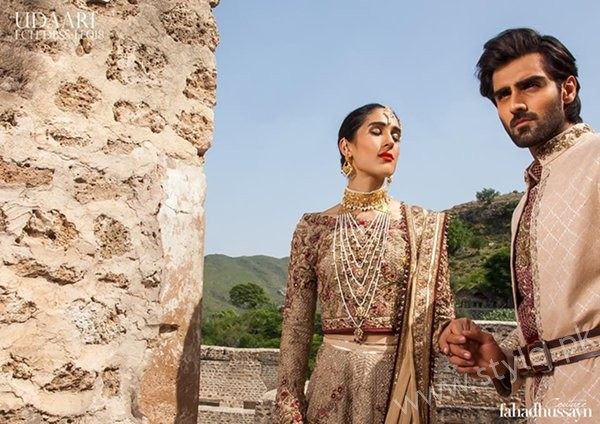 Fahad Hussayn Wedding Dresses 2016 - 2017 For Men And Women02