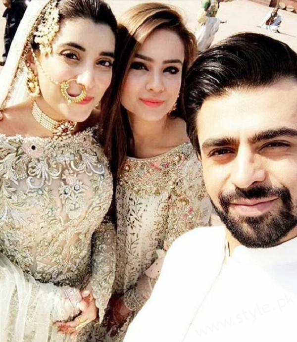 Farhan Saeed Nikkah with Urwa Hocane