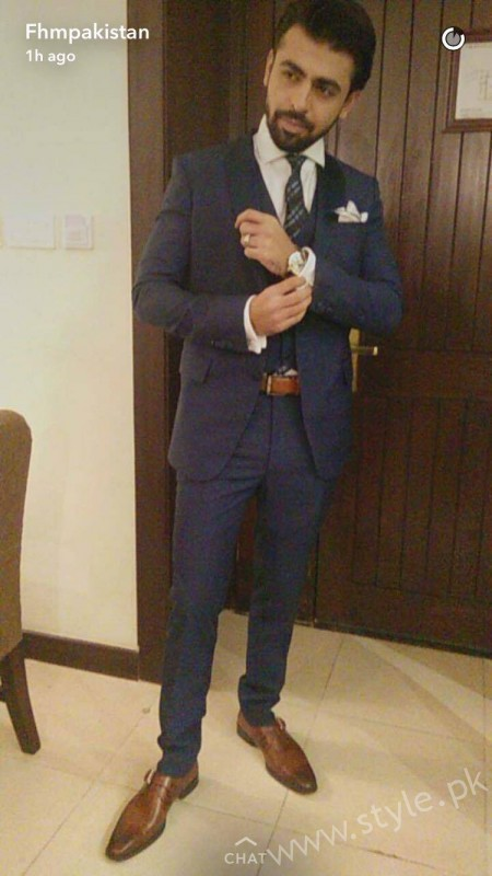 Farhan Saeed Reception Pictures