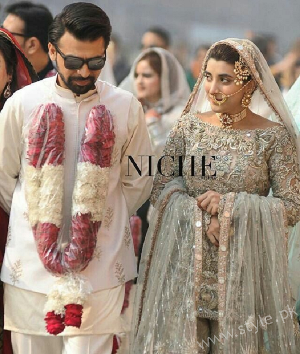 Farhan Saeed Urwa Hocane Nikkah Pictures Latest