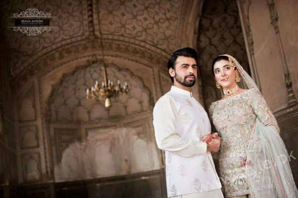 Farhan Saeed and Urwa Hocane Nikkah