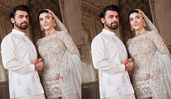 Farhan Saeed and Urwa Hocane Nikkah Photo