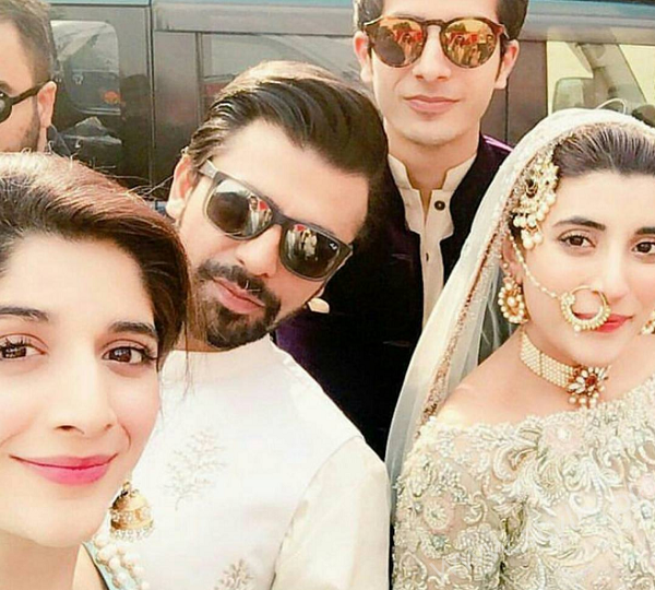 Farhan Saeed and Urwa Hocane Nikkah Picture