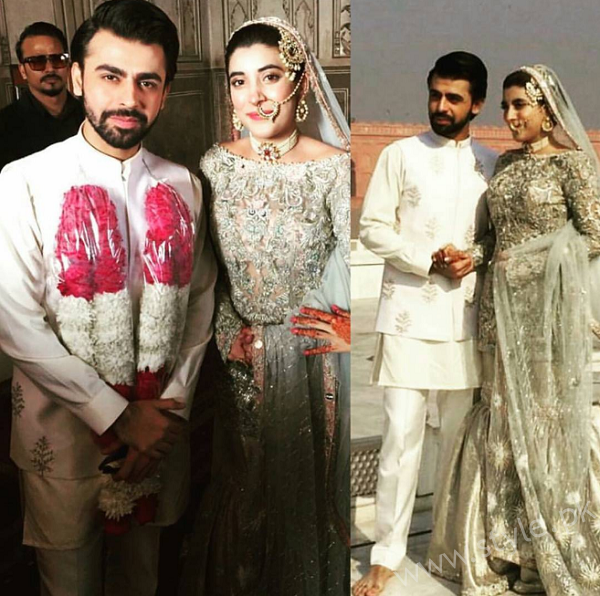 Farhan Saeed and Urwa Hocane Nikkah Pictures