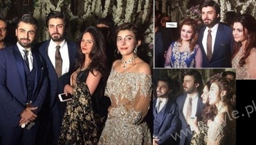 Fawad Khan at Urwa Farhan Wedding