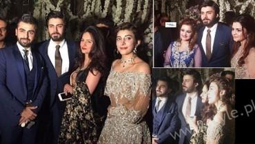 Fawad Khan at Urwa Farhan Wedding