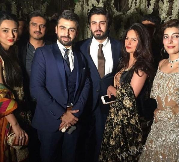 Fawad Khan at Urwa Hocane and Farhan Saeed's Wedding (1)