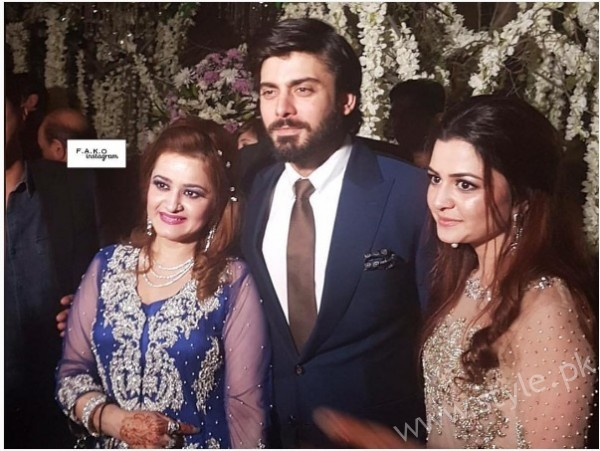 Fawad Khan at Urwa Hocane and Farhan Saeed's Wedding