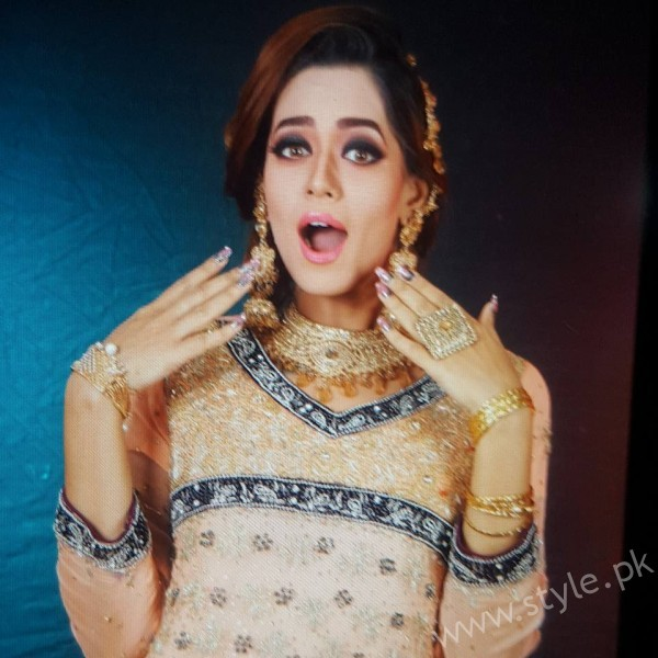 Feroza Mohammad Bridal Beauty Shoot For Fabiolla Beauty Parlour