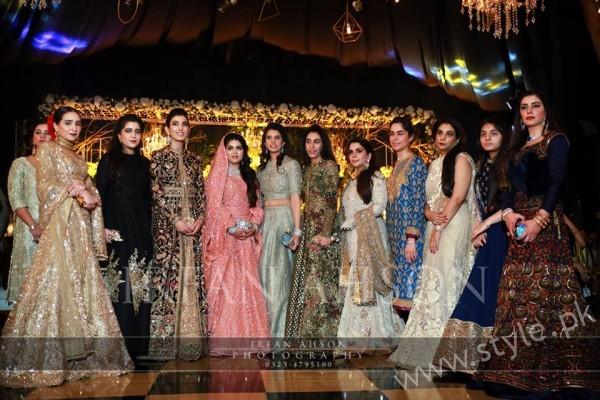 Group Photo Malik Riaz's Grand Daugher Wedding