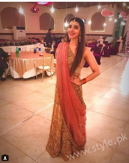 Hareem Farooq at her friend's Wedding (2)