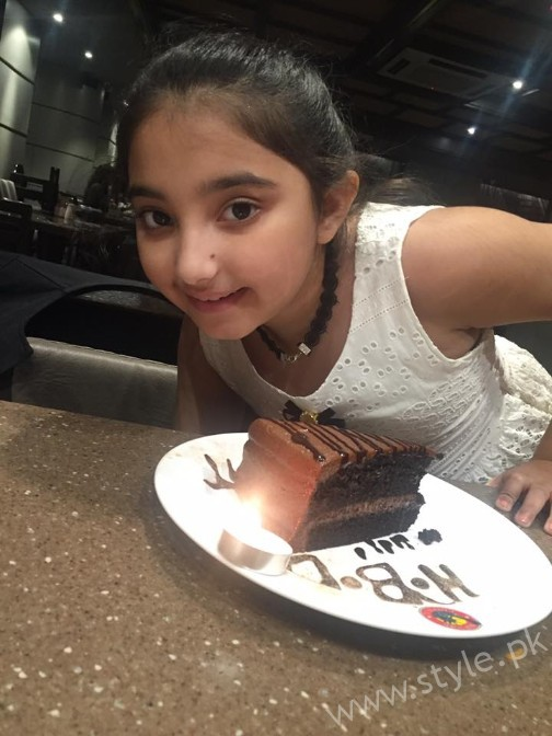 Javeria Saud Daughter Birthday 11