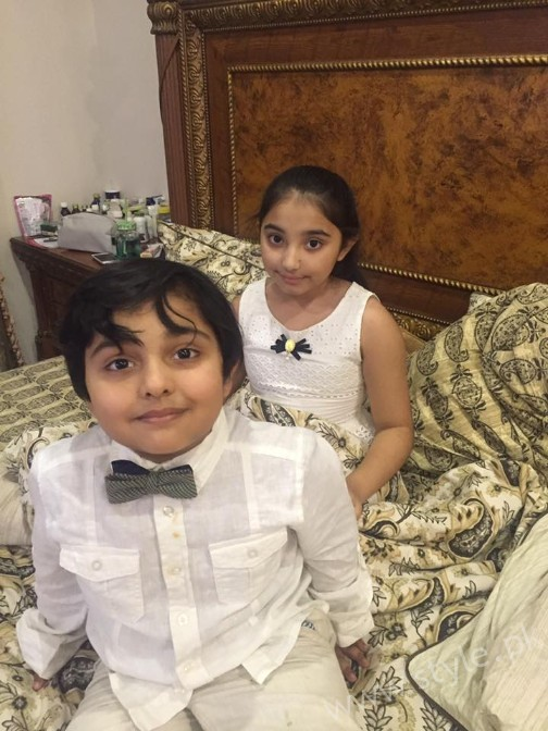 Javeria Saud Daughter Jannat Birthday