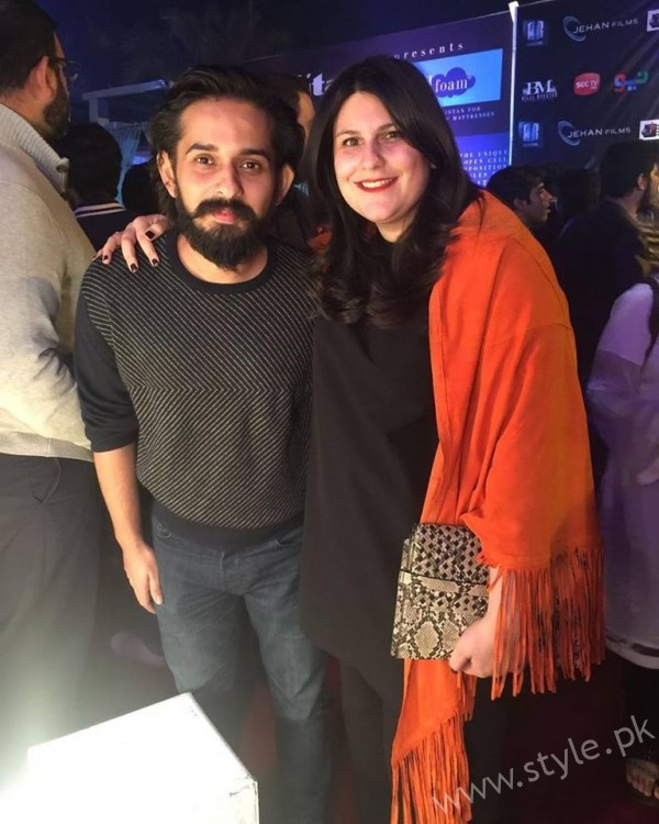 Jimmy khan and Salina Rashid Khan