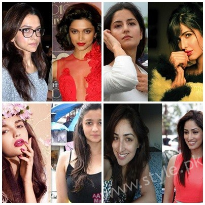 List Of Bollywood Actresses Looks Beautiful With And Without Makeup