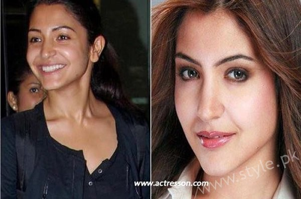 List Of Bollywood Actresses Looks Beautiful With And Without Makeup005