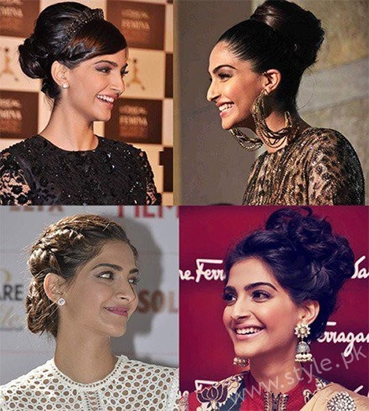 List Of Indian Actresses Who Rocked The Bun Style