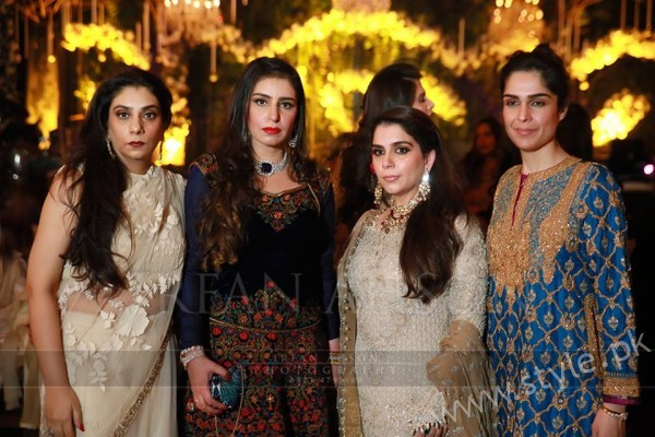 Malik Riaz Grand Daughter Wedding