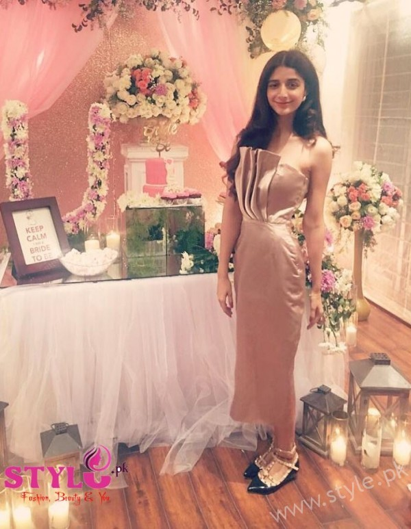 Mawra Hocane Urwa Bridal Shower