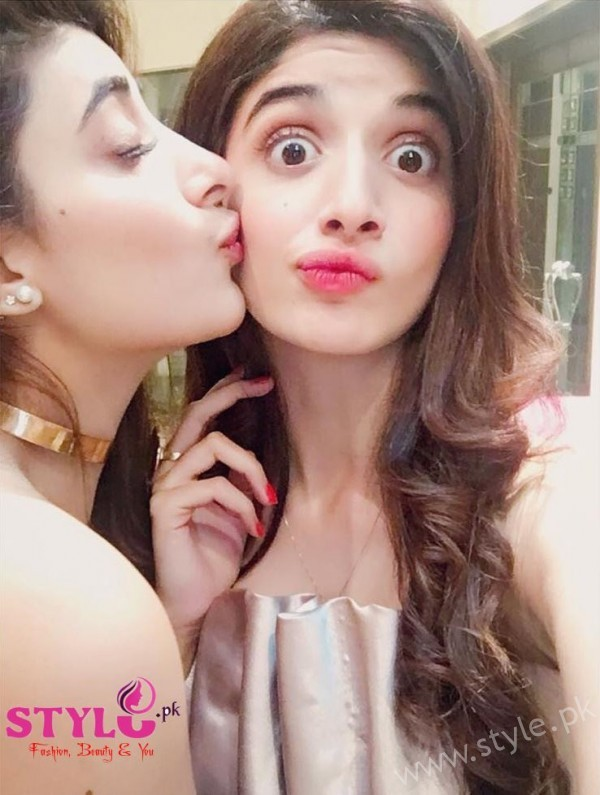Mawra and Urwa Hocane at Bridal Shower Party