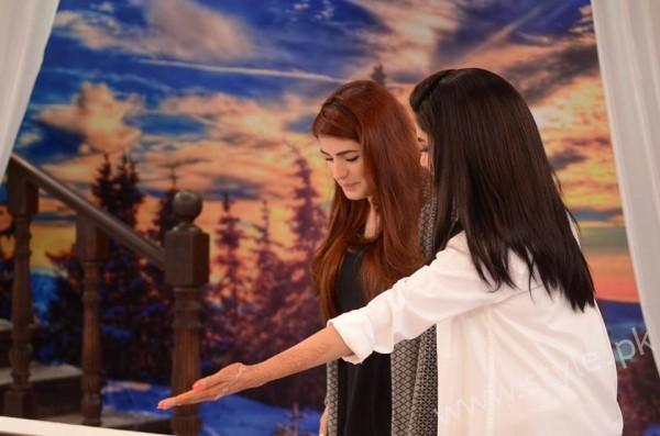 Momina Mustehsan in Nida Yasir's Show