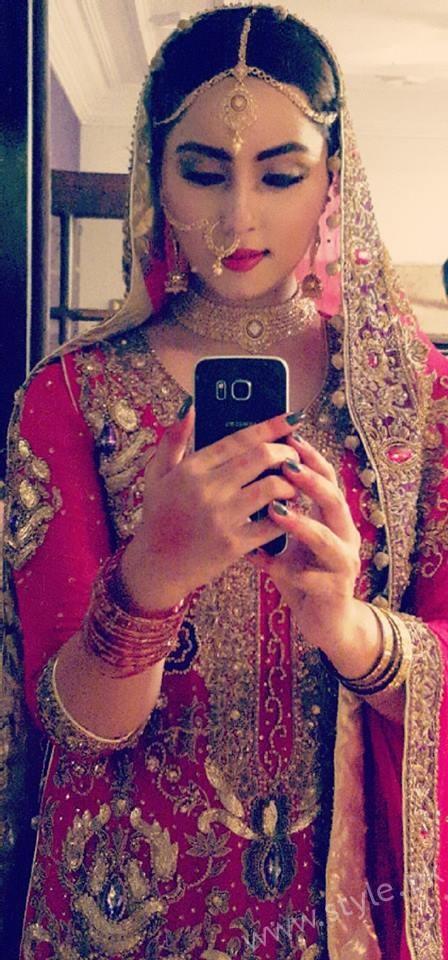 Nimra Khan bridal