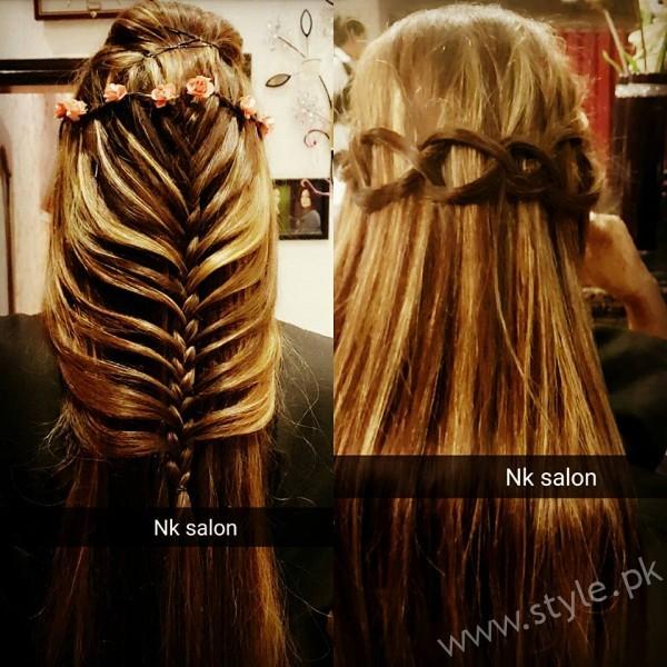 Hairstyles at Nimra Khan Salon