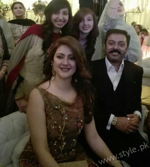Noman Ijaz Wife and Son Urwa Farhan Wedding (1)