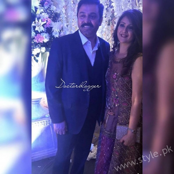 Noman Ijaz Wife and Son Urwa Farhan Wedding (2)