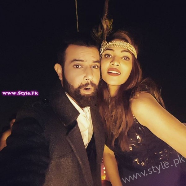 Noor Hassan and Zhalay Sarhadi Gatsby Night Picture
