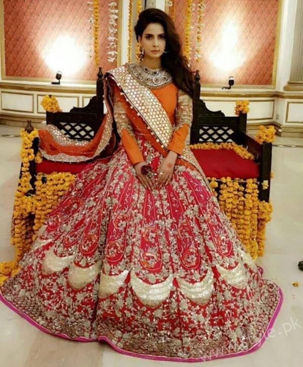 Saba Qamar Erum Khan Bridal Couture Campaign 2016-17 (2)