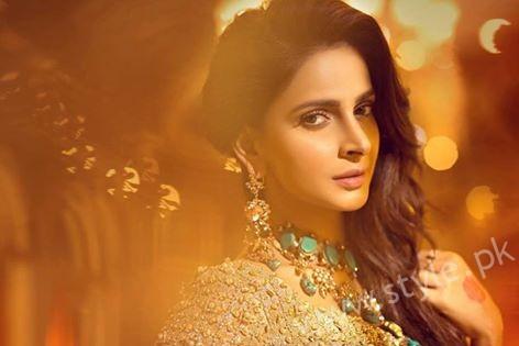 Saba Qamar Erum Khan Bridal Couture Campaign 2016-17 (7)