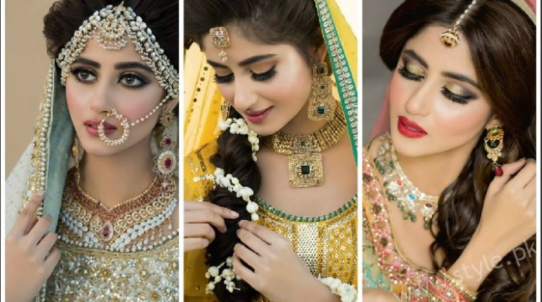 Sajali Ali Bridal Beauty Shoot Nadia Hussain Salon Featured