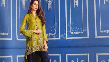 Sana Salman Winter Dresses 2016-2017 For Women0012