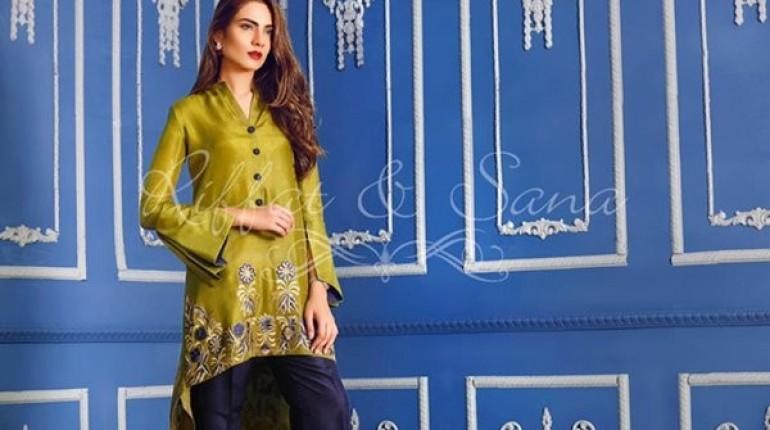 7b2c9a6b60 Sana Salman Winter Dresses 2016-2017 For Women - Style.Pk