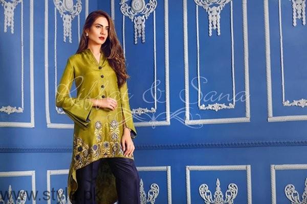 Sana Salman Winter Dresses 2016-2017 For Women0012
