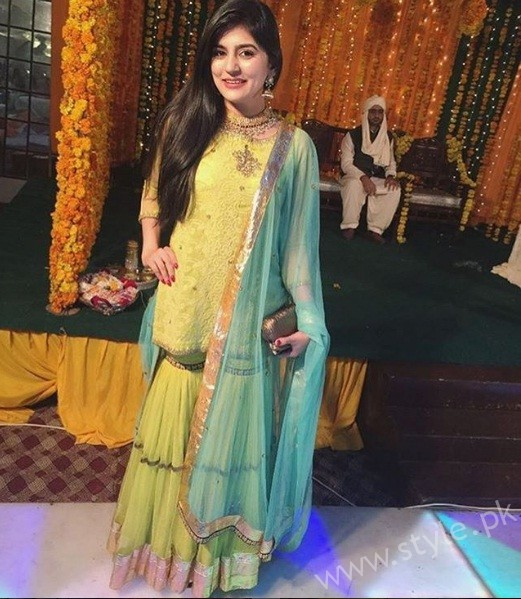 Sanam Baloch At a Wedding Of Her Friend's Brother