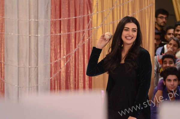 Sarah Khan and Agha Ali in Good Morning Pakistan (12)