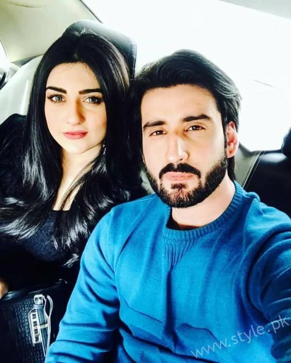 Sarah Khan and Agha Ali in Good Morning Pakistan (14)
