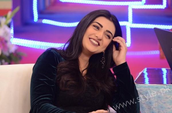 Sarah Khan and Agha Ali in Good Morning Pakistan (3)