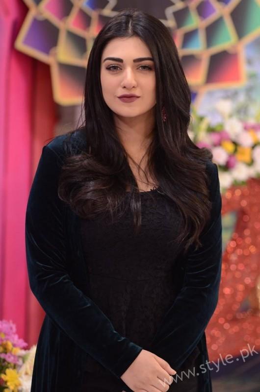 Sarah Khan and Agha Ali in Good Morning Pakistan (9)